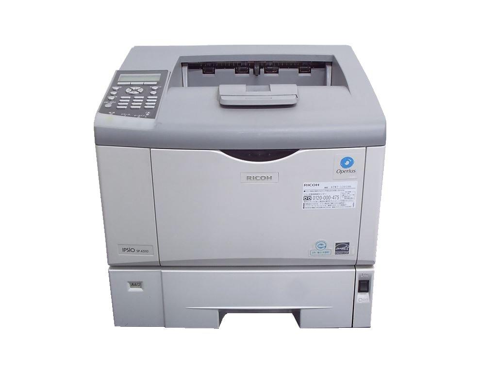 IPSiO SP4300 RICOH A4モノクロレーザープリンタ【中古】