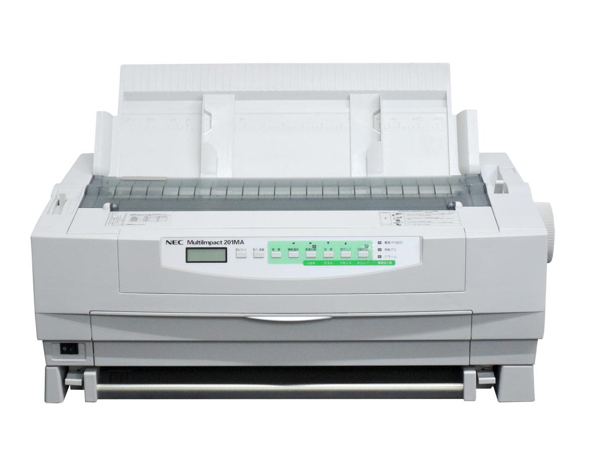 NEC MultiImpact201MA ドットプリンタ フロントトラクターフィーダ付【中古】PR-D201MA