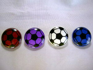 サッカーボールボタン 1.8 B