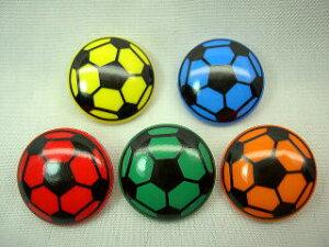 サッカーボールボタン2.0cm