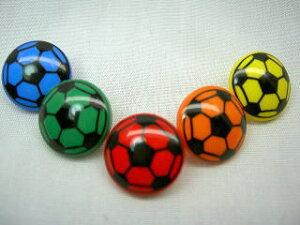 サッカーボールボタン1.8cm