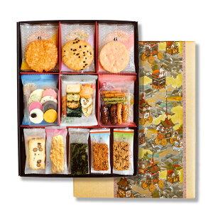 『祇園セット30』(42袋入り) | 退職 お礼 お供え物 お供え お菓子 せんべい ギフト おかき おせんべい 詰め合わせ 個包装 あられ お煎餅 法事 菓子折り かりんとう 京都 煎餅 お取り寄せ 香典返