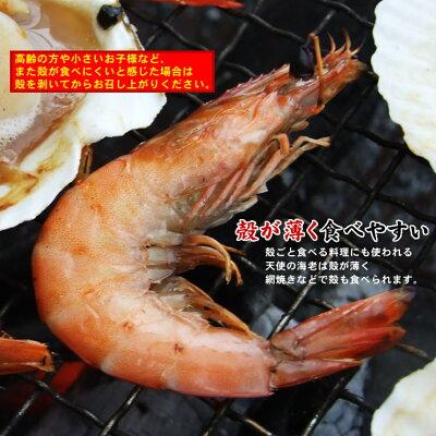 海鮮BBQ串エビホタテ片貝セット