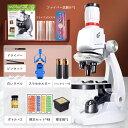 お子様、お孫さんのプレゼントに最適!学習用 1200x 顕微鏡 実験 知育 理科 生物顕微鏡と反射顕微鏡 子供の頃から科学…