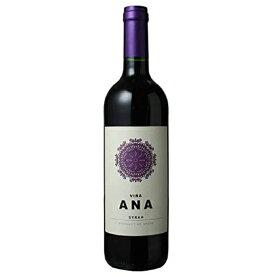 お酒 お中元 ギフト プレゼント ヴィーニャ・アナ シラー / フェルナンド・カストロ 赤 750ml 12本 スペイン ラ・マンチャ 赤ワイン コンビニ受取対応商品 ヴィンテージ管理しておりません、変わる場合があります ケース販売