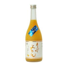 母の日 ギフト 梅乃宿 あらごしみかん酒 720ML 12本 奈良県 梅乃宿酒造 リキュール ケース販売 送料無料 プレゼント
