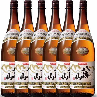 【お年賀 ギフト】八海山(はっかいさん) 特別本醸造 1800ml×6 一升瓶6本 新潟県 八海山 日本酒 ケース販売 送料無料
