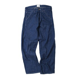 【CAL O LINE:キャルオーライン】CL162-034/BARREL PAINTER DENIM【smtb-TK】
