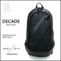 【DECADE:ディケイド】DCD-00830CORDURANYLONBACKPACK[コーデュラナイロンバックパック]