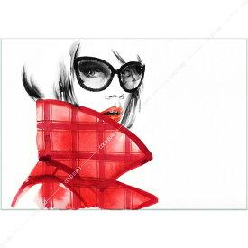 絵画 インテリア PLEXIGLAS Art de la mode3 SIZE mm 1000*1400 アート 装飾 壁 絵 ココ コブラアート上位モデル 高級 フレームレスアート