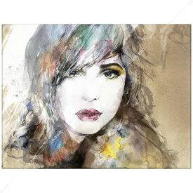 絵画 壁掛け PLEXIGLAS Aquarelle Portrait1 SIZE mm 600*800 アート 装飾 壁 絵 ココ コブラアート正規品 高級 フレームレス