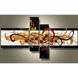 絵画 アートパネル 飴色の抽象/Sサイズ/おしゃれ 絵 壁掛け ニッチ トイレ 玄関に飾る モダン 手書き(SALE対象)