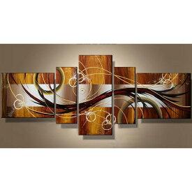 絵画 アートパネル 胡桃色の抽象/Sサイズ/おしゃれ アートパネル 玄関に飾る ニッチ リビング 壁掛け モダン アート(SALE対象)