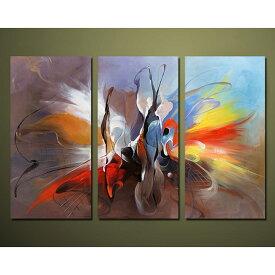 絵画 壁掛け 油絵 藤色の抽象【Sサイズ】アートパネル おしゃれ 絵 玄関に飾る ニッチ リビング 壁掛け モダン抽象画(SALE対象)