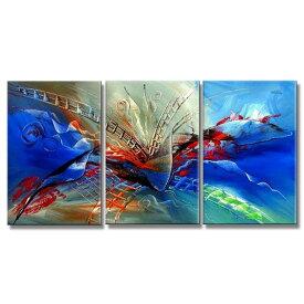 絵画 壁掛け 油絵 青の抽象【Sサイズ】アートパネル おしゃれ 絵 玄関に飾る ニッチ リビング 壁掛け モダン抽象画(SALE対象)