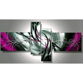 絵画 壁掛け 手描き 黒と紫紺の抽象【Sサイズ】アートパネル おしゃれ 絵 壁掛け ニッチ トイレ 玄関に飾る モダン抽象画(SALE対象)