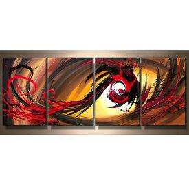 アートパネル 絵画 インテリア /Sサイズ/曙色の抽象/おしゃれ 絵 油絵 玄関に飾る ニッチ 壁掛け モダン アート(SALE対象)