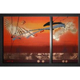 アートパネル 絵画 インテリア /Sサイズ/赤銅色の抽象/おしゃれ 絵 油絵 壁掛け ニッチ 玄関に飾る モダン アート(SALE対象)