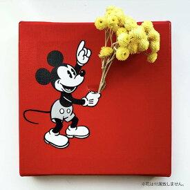 【お買物マラソン】ミッキーマウス ミッキーのIKEBANA 生きてるインテリア 生け花 一輪挿し プレゼント DISNEY キャンバスパネル アートパネル