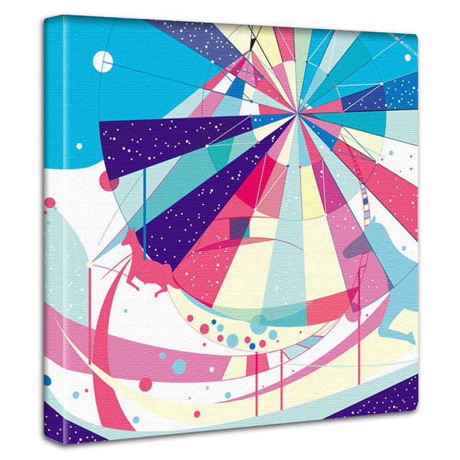 霧の意志 【店舗・部屋の壁に飾る】アートパネル インテリア かっこいい キャンバスアート 壁掛け 絵画 アート インテリアアート ディスプレイ