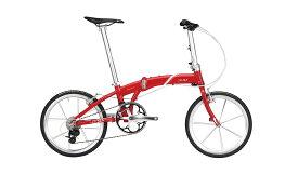 【整備済】『25%OFF』2018 DAHON(ダホン)Mu SLX ミューSLX SPARKY RED 折りたたみ自転車 在庫限り
