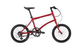 【整備済】『25%OFF』アウトレット2018DAHON(ダホン)DASH P8 ROSE RED 折りたたみ自転車 在庫限り