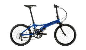 【整備済】【25%OFF】2019 DAHON(ダホン)VISC EVO(ビスク エボ)ENAMEL BLUE 折りたたみ自転車 在庫限り