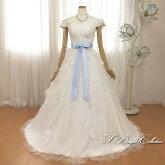 ウエディングドレス(オフホワイト)7011