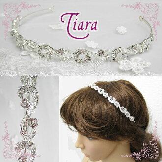 Tiara wedding headband wedding tiaras bridal accessory / hair accessories wedding bride ornament rhinestone Pearl simple (t-0503)