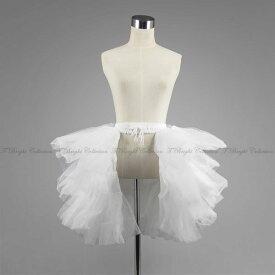 【あす楽14時】バッスルパニエ ボリューム 大人 舞台衣装にピッタリ ドレスに合わせて綺麗なベルラインが作れます ふんわり ドレス インナー コスプレ ボリュームアップ用 バッスル調 ウエディング 演劇 中世 貴族 ロリータ ロココ スカート チュール