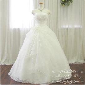5e79fecf112e7 ウエディングドレス 7号9号11号 オフホワイト プリンセスライン 高級感があるシンプルドレス ウェディングドレス Wedding Dress 結婚式  披露宴 二次会 白ドレス ...