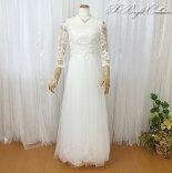 ウエディングドレス(オフホワイト)18835