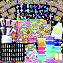 スライムキット 【マジカル・ユニコーン】slime kit フリースライム おもちゃ 手作りツール ストレス解消 ふわふわク…