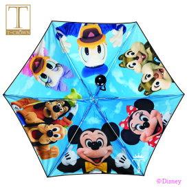 【あす楽】【東京ディズニーリゾート限定】大人気で売切れのミッキー&フレンズ実写傘☆ 晴雨兼用の折りたたみ傘 遮光、UVカット99%以上!日傘 ディズニーキャラクターの実写デザイングッズ
