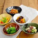 蓮根 小鉢 三角 (アウトレット込み)      鉢/ボウル/取り鉢/和食器/美濃焼/おかず鉢/野菜柄