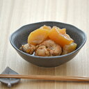 和風の楕円小鉢 黒茶和食器/小鉢/ボウル/黒い食器/楕円/鉢/とんすい