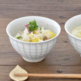 和食器 茶碗 土物の茶碗(小)(白十草)和食器 貫入 お茶碗 ご飯茶碗 ボウル 夫婦茶碗 茶わん ライスボウル おしゃれ 日本製 陶器 カフェ風 和モダン 和風