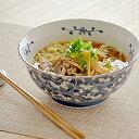 だみ唐草 (麺鉢)ラーメン丼/中華鉢/大鉢/和食器/丼ぶり/めん鉢