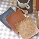 木製 正角コースター(スクエア)    木製コースター/木のコースター/キッチン雑貨/トレー/カップトレイ/茶たく/…