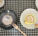 和食器 水玉 三角5寸皿 (ドットモノトーンシリーズ) (アウトレット込み)中皿/ケーキ皿/和のケーキ皿/和食器/取り皿/水玉模様/小皿/プレート