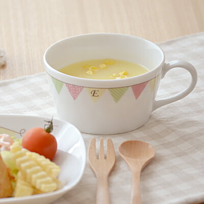 E-Kids ガーランド スープカップスープマグ/子供食器/子供用食器/こども食器/子供の手付きカップ/子供用スープマグ/キッズ用/子供 用/おしゃれ/かわいい/カフェ食器