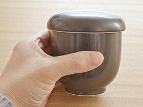 新色登場!EASTオリジナル茶碗蒸し(黒マット)(訳あり・アウトレット)蒸し碗/ちゃわんむし/黒い食器/美濃焼き/和食器/蓋物