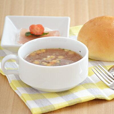 スタック スープカップ(ホワイト)白いスープカップ/スタッキングスープカップ/カップ/マグ/スープ用/業務用/ポーセリンアート/カフェ風/おしゃれ/シンプル/カフェ食器