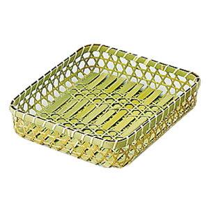 六ツ目タラシ 大(31x28x高さ7cm)    竹製 キッチン雑貨 キッチン用品 調理道具 ディスプレイ 水切り ざる ザル 業務用