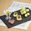 【5月限定SALE】スレートプレート 長角皿 30cmスレートボード/角皿/チーズボード/おもてなし食器/前菜皿/長角皿