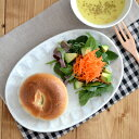 粉引 しのぎ刷毛目 楕円皿   和食器/お皿/ケーキ皿/ワンプレート/カフェ食器/皿