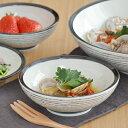 黒ボーダー ボウル M (15cm) (アウトレット込み)  和食器/サラダボウル/取り鉢/煮物鉢/デザートボウル/美濃焼