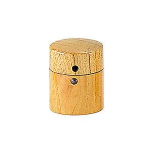 筒型さんしょ入 (クリアー)  山椒入れ 山椒いれ 木製 キッチングッズ 台所用品 キッチン雑貨 調味料入れ 業務用