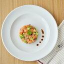 ビストロ ディナープレート 28cm (ホワイト)(アウトレット込み) 大皿/白い大皿/白い食器/プレート/ディナープレート