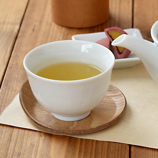 ゆらぎ煎茶碗(ホワイト)(STUDIO BASIC)湯呑み/ゆのみ/茶器/和食器/シンプル/白い食器/湯飲み/オシャレ/汲み出し/ポーセリンアート/おしゃれ/来客用/シンプル